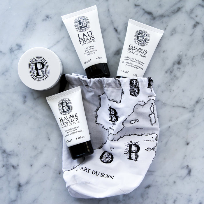 Diptyque L'Art du Soin (The Art of Body) Travel Kit