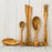 Dubost Olive Wood Rice Serving Spoon