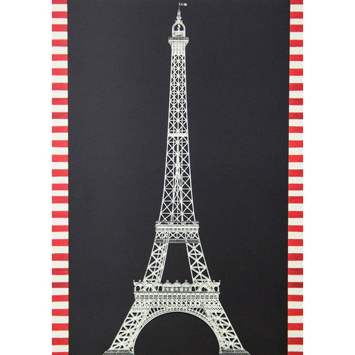 Eiffel Tower Postcard - Art Deco