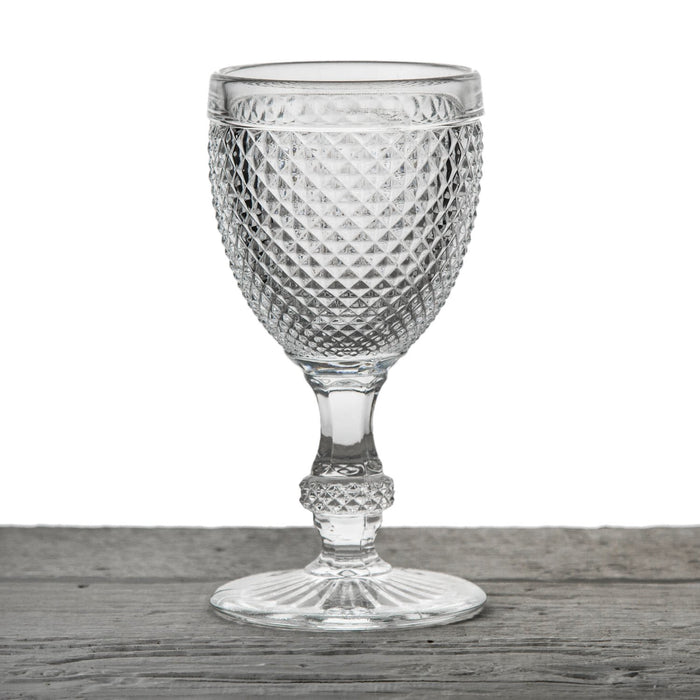 Embossed Wine Glass Goblet