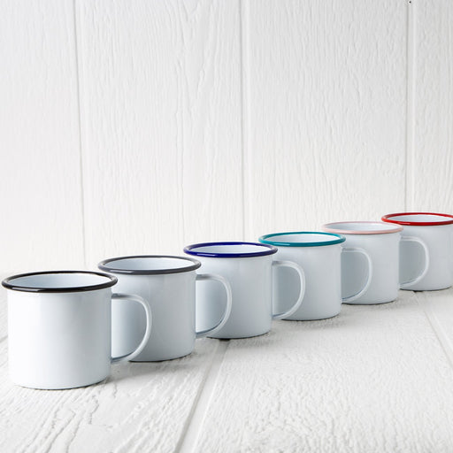 Enamelware Coffee Mugs (12 oz.)