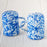 Enamelware Salt and Pepper Shakers (Blue)