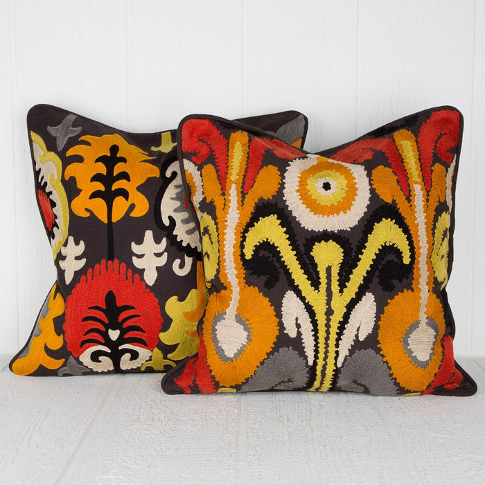 Ethnic Yellow Pillow