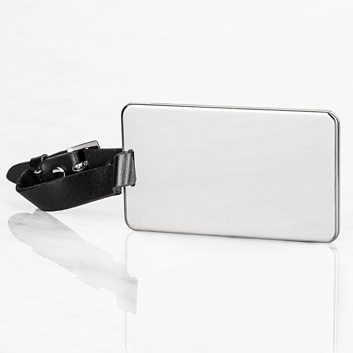 Executive Stainless Steel Luggage Tag