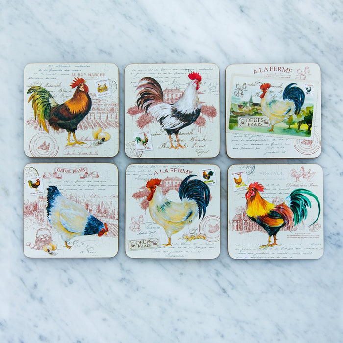 Farm Coasters (Set of 6)