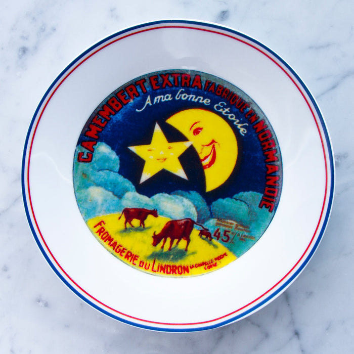 Favorite Cheese Factory in Touraine Plates (Set of 4)