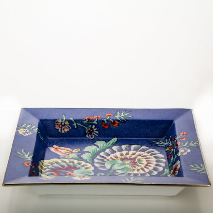 Floral Russian Art Decorative Tray