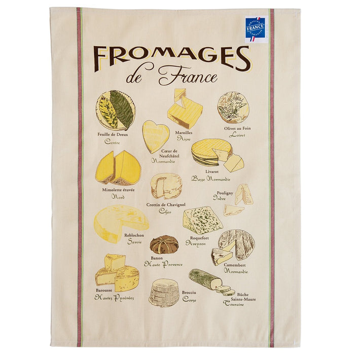 Fromage of France Kitchen Towel