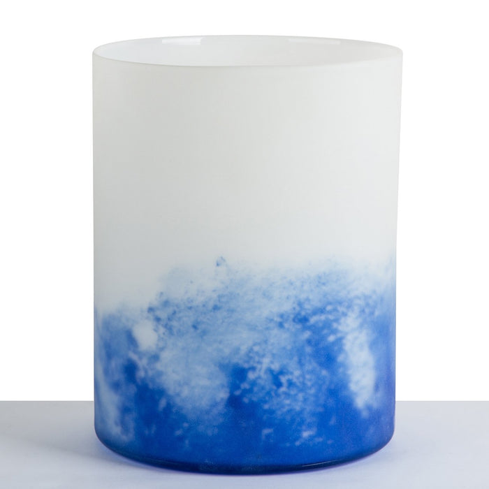 Frosted Grapha Vase
