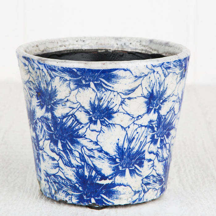 Geranium Floral Planter Pot