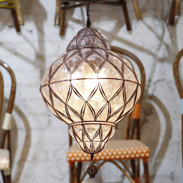 Glass Battal Lantern (Medium)