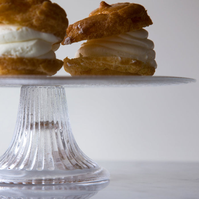 Glass Cake Stand, Large
