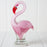 Glass Flamingo Figurine