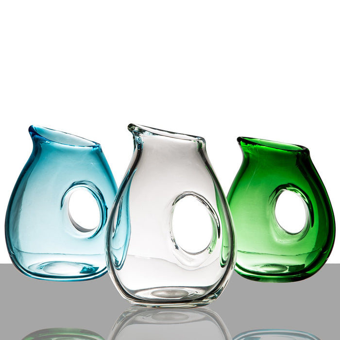 Glass Pitchers with Hole