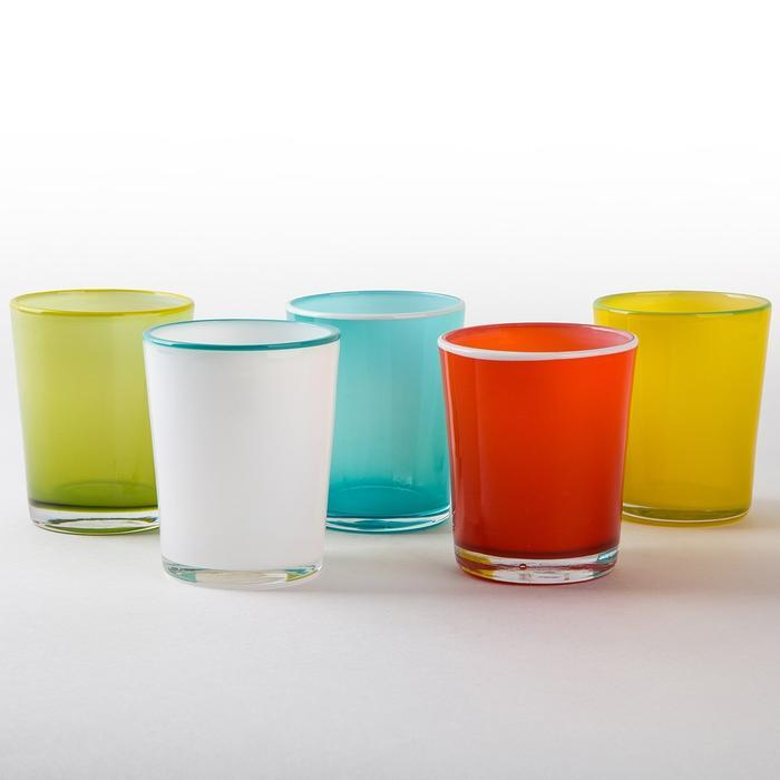 Glass Summer Tumblers