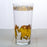 Gold Elephant Glass Highball