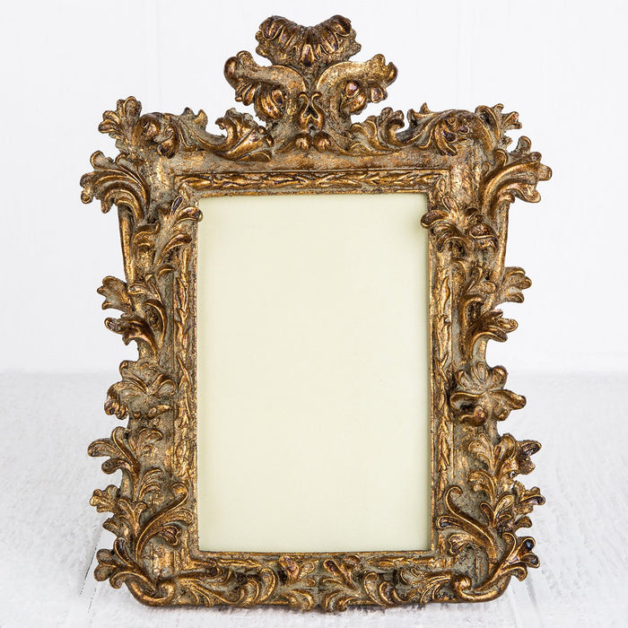 "Gold Victorian Picture Frame (4x6"")"