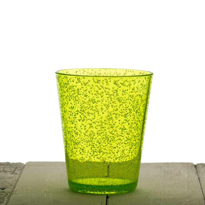 Green Acrylic Bubble Cup