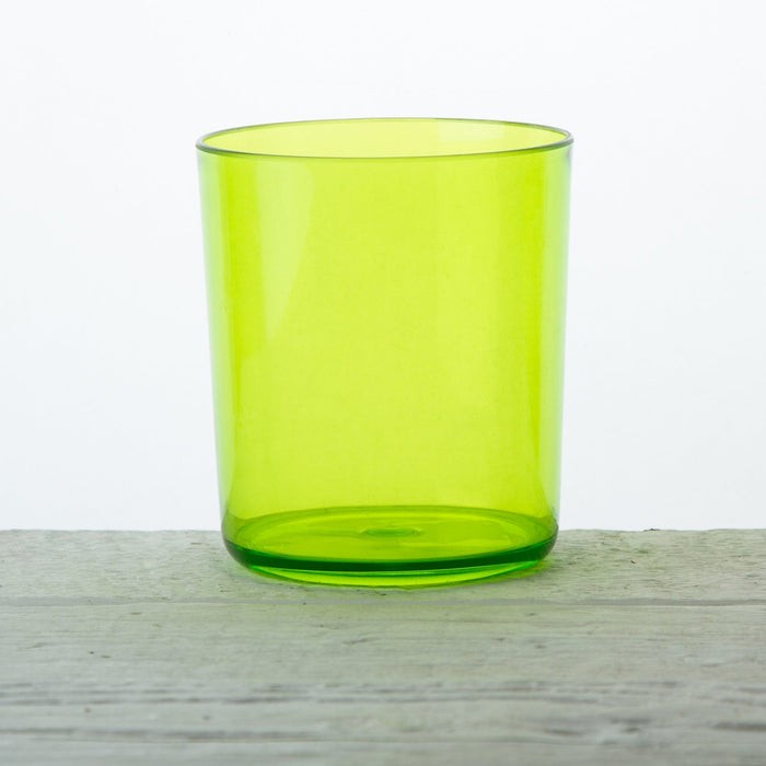 Green Acrylic Festival Water Glass