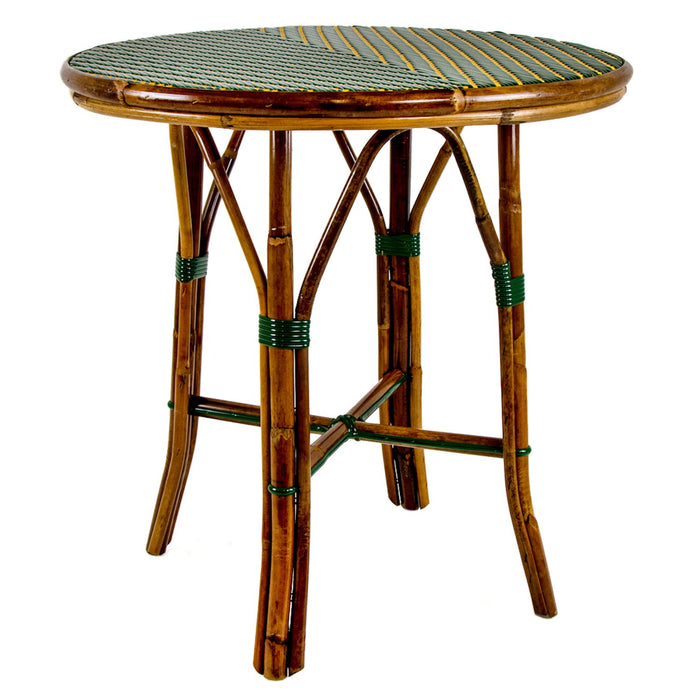 Green & Orange Mediterranean Bistro Table (2 Seater)
