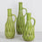 Green Ceramic Bottle Vases