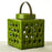 Green Ceramic Crackle Lantern, Small