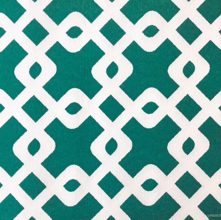 "Green Chain Paper Napkins (8"")"
