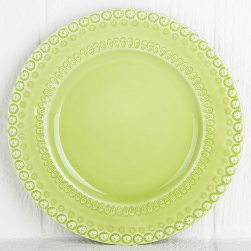 Green Fantasy Dinner Plate