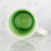 Green Gloss Glazed Crackle Mug