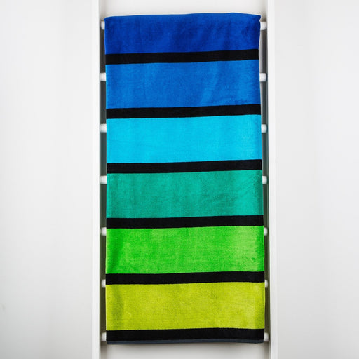 Green Happy Towel