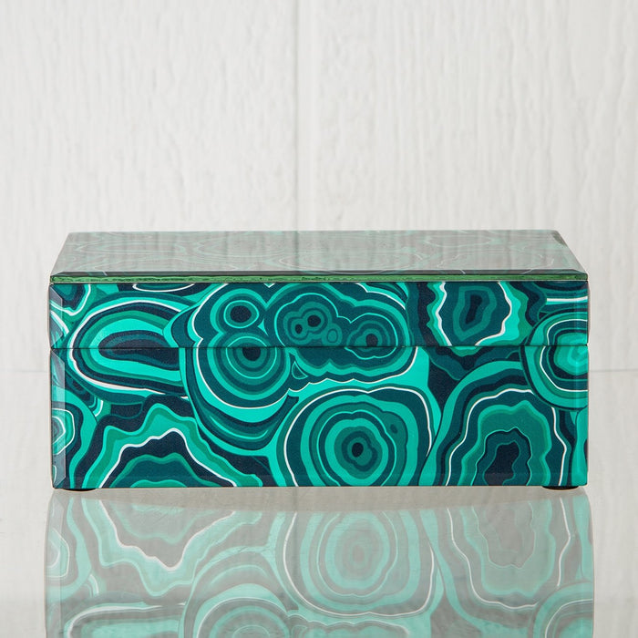 Green Malachite Box (Small)