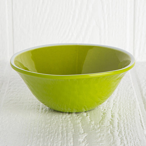 Green Melamine Soup Bowl