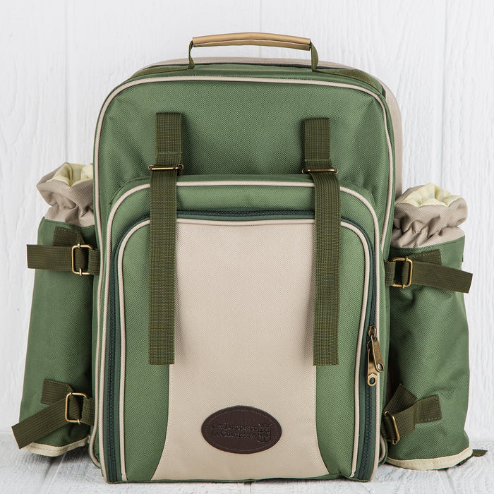 Green Picnic Backpack (4 person)