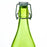 Green Swing-top Glass Water Bottle, 33.75oz
