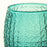 Green Textured Double Old-Fashioned Glass