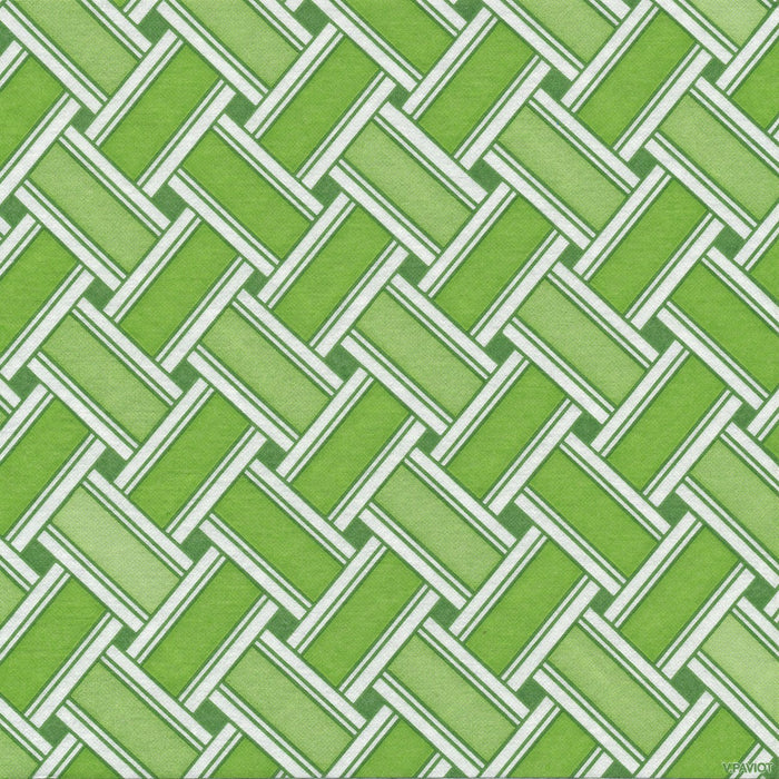 "Green Trestle Paper Napkins (8"")"