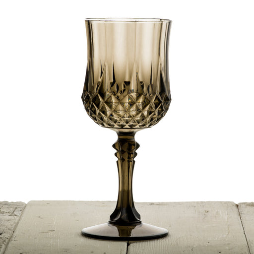 Grey Acrylic Diamond Goblet