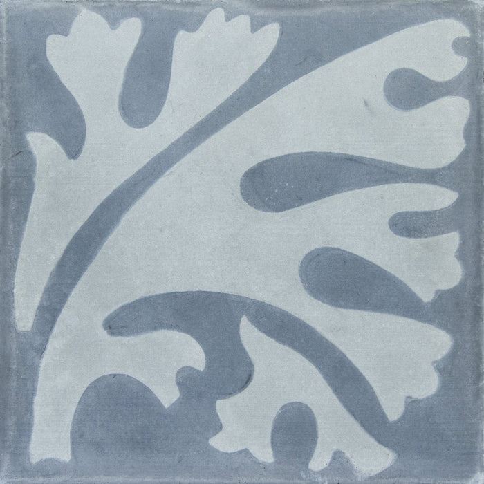 "Grey Algue Carocim Tile (8"" x 8"") (pack of 12)"