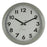 Grey Badge Wall Clock