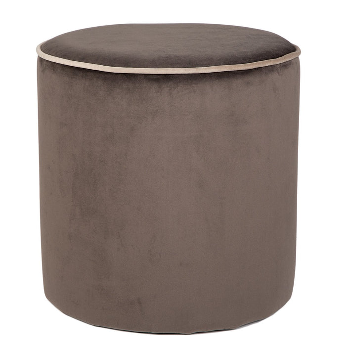 Grey Countra Pouf
