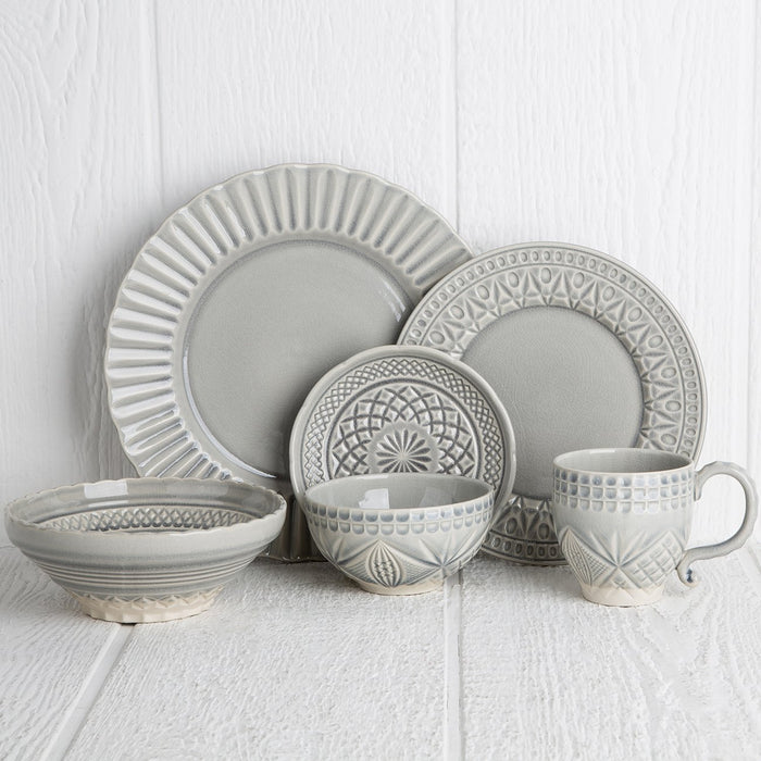 Grey Crystal Dinnerware