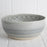 Grey Crystal Serving Bowl