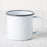 Grey Enamelware Coffee Mug (8 oz.)