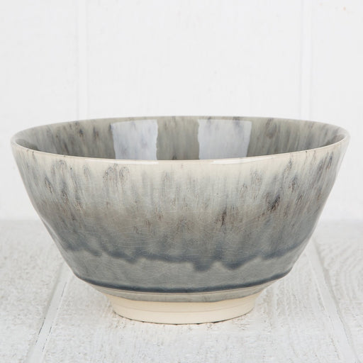 Grey Maderia Serving Bowl