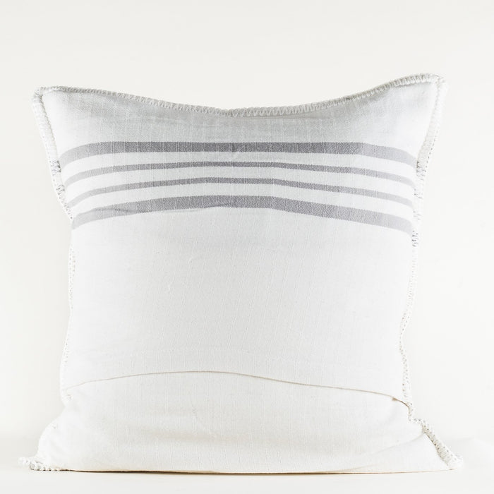 Grey Ornos Pillow Cover
