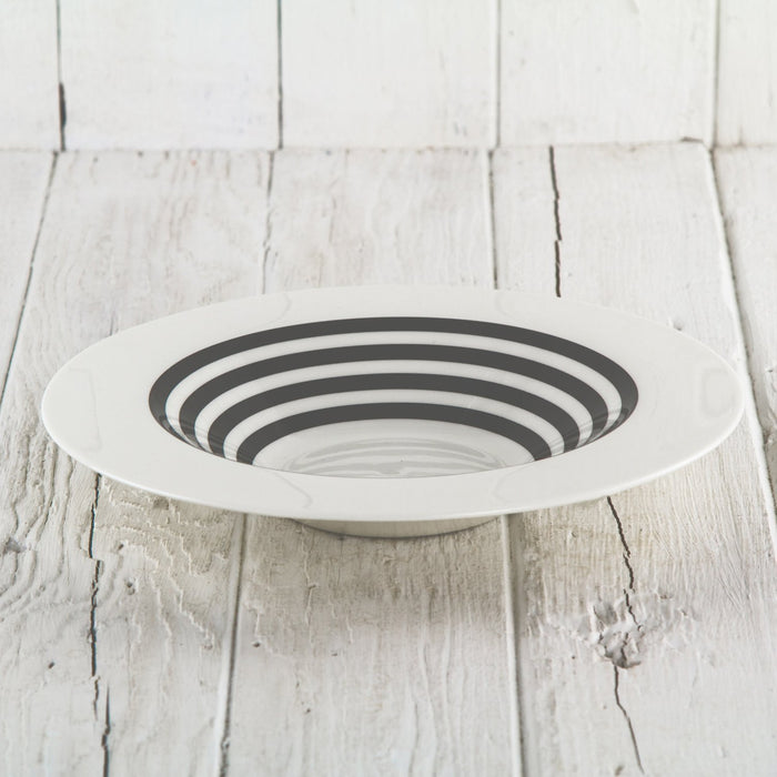 Grey Stripe Bowl