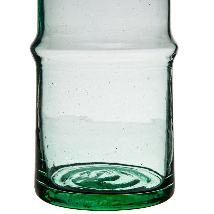 Hand Blown Green Vase