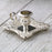 Hand Held Silver-Plated Candlestick Holder