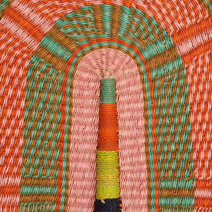 Hand Woven Colorful Fans