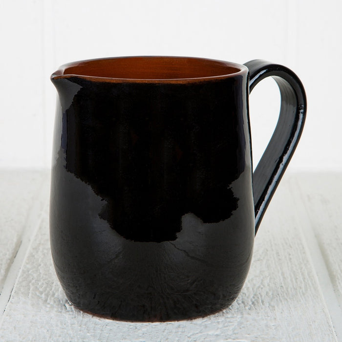 Handmade Black Pitcher (Medium)